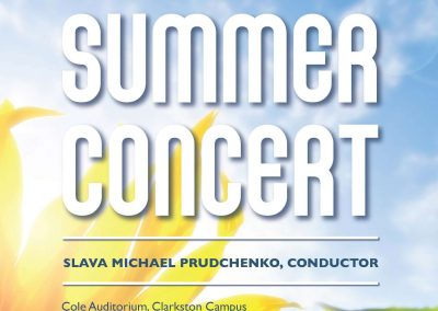 2015 Summer Concert