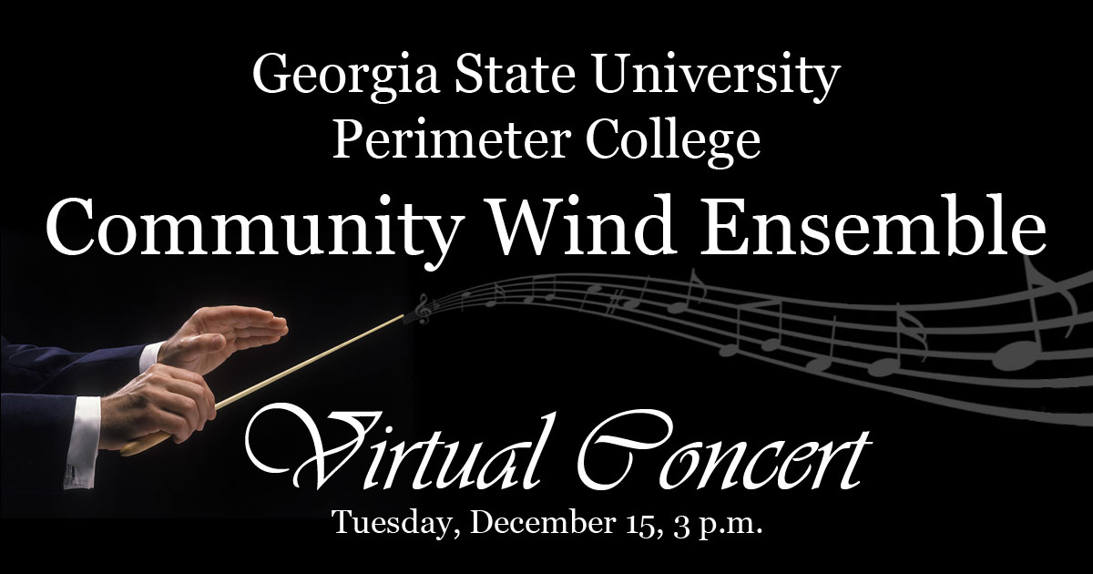 Wind Ensemble Concert December 15, 3 pm